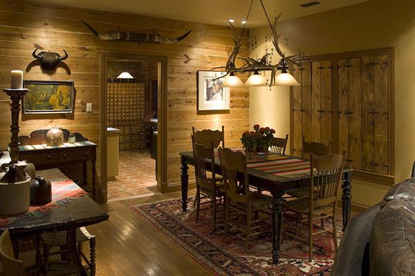 Texas style decor home design for Texas themed living room