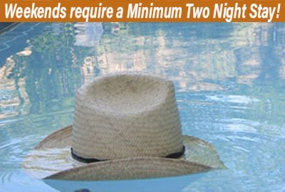 Weekend Minimum Two Night Stay
